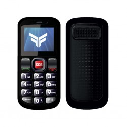 """FlameFox Care1 1.77"""" with FM Radio, Led Torch"""