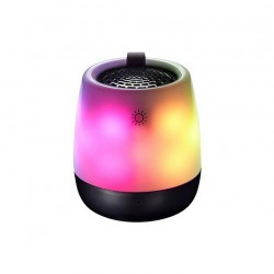 Wireless Speaker Bluetooth Maxton Barva MX680 3W with Speakerphone, MicroSD, AUX-In, 3.5mm Jack and 5 lighting modes