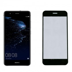 """IDOL 1991 TEMPERED GLASS HUAWEI P10 PLUS 5.5"""" 9H 0.25mm 2.5D SPECIAL FULL COVER BLACK"""