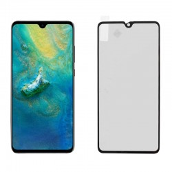 """IDOL 1991 TEMPERED GLASS HUAWEI MATE 20 6.53"""" 9H 0.25mm 2.5D SPECIAL FULL COVER BLACK"""
