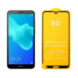 """IDOL 1991 TEMPERED GLASS HONOR 8S 2020/HUAWEI Y5 2019 5.71"""" 9H 0.25mm 9D FULL GLUE SPECIAL FULL COVER BLACK"""