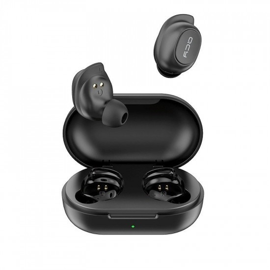 QCY T9 TWS True Wireless Sports Earbuds 5.0 Bluetooth Headphones IPX4 Speaker 6mm 4hrs with button